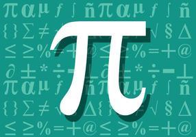 Symbole mathématique vecteur