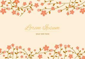 Contexte Peach Blossom