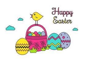 Vecteur Joyeuses Pâques