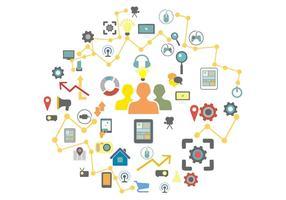 Concept Creative Technology Illustration Vecteur