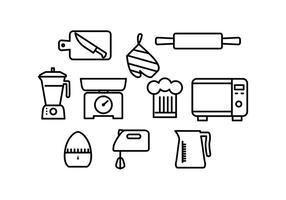 Vector Icon cuisine gratuit
