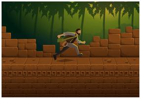 Illustration Vecteur libre Jungle jeu