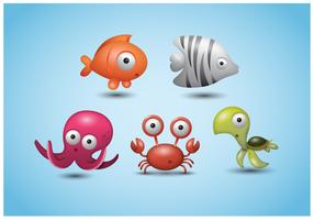 Vector Icons Cute Animal gratuit