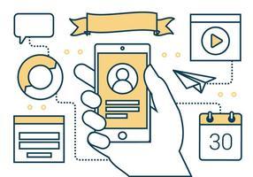 Vector Elements Digital Marketing gratuit