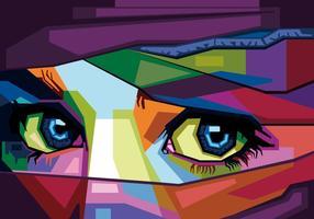 vecteur yeux Wpap