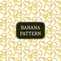 motif de bananes jaunes vecteur
