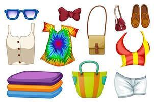 ensemble d'accessoires de mode