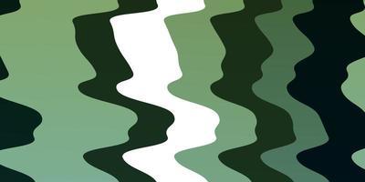 mise en page verte avec des vagues.