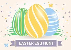 Contexte de Pâques vecteur de vacances gratuit