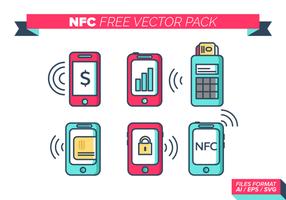 NFC gratuit Pack Vector