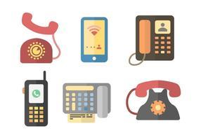 Gratuit iconiques vecteurs de communication vecteur