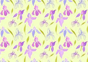 Vecteurs de motif Iris gratuit vecteur