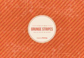 Fond grunge rayures orange vecteur