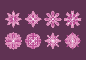 Vecteur fleur fleur