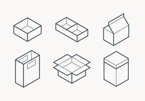 Emballage Outline Icône