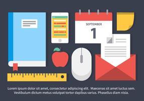 Design Elements plat vecteur libre