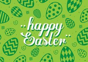Contexte Joyeuses Pâques vecteur