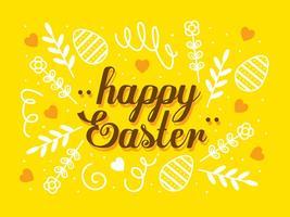 Contexte de Pâques vecteur