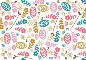 Motif Simple Floral Illustrator