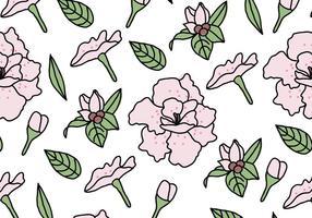 Rhododendron Motif vecteur