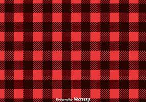 Vector Red Flanelle Imprimer
