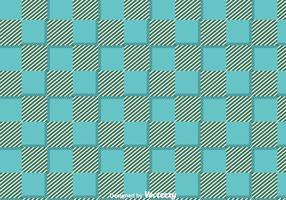 Vecteur de motif bleu Ornement Flanelle