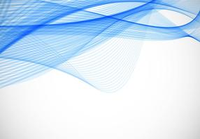 Contexte Vector onduleux bleu gratuit