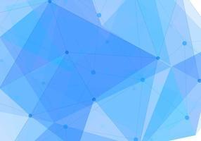 Contexte Polygon vecteur libre bleu