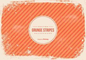 Fond grunge rayures orange