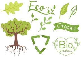 Vecteurs Ecologie libre vecteur