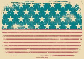 Contexte patriotique grunge américain vecteur