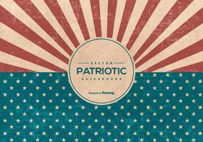 American Retro style grunge fond patriotique vecteur