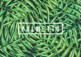 Contexte Palmetto vecteur