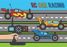 Illustration RC voiture vecteur