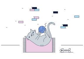 Vector Cat gratuit