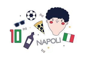 Vecteur libre Napoli