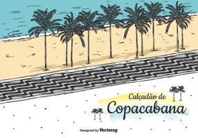 Contexte Copacabana Vector
