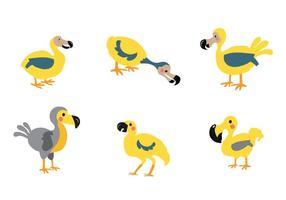 Vecteur libre animal Dodo Oiseau