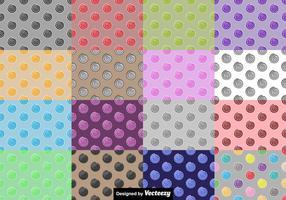Ensemble de motifs transparents Vectoriel à base de sucrerie
