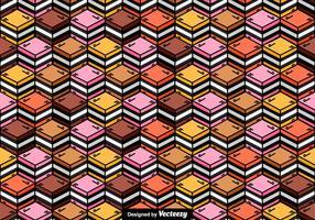 Vecteur de sucrerie de réglisse motif sans couture