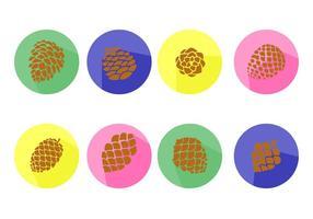 Free Icons Cones de pin vecteur