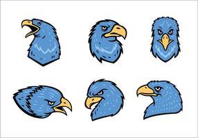 Vecteur libre de la mascotte d'Eagles