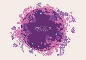 Vecteur de Wisteria