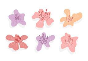 Gratuit Belle fleur Rhododendron Vecteurs vecteur