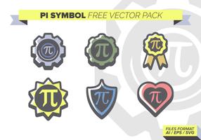 Pi Symbole libre Pack Vector