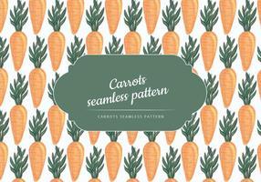 Motif main vecteur carottes Drawn