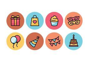 Party Icon Pack vecteur