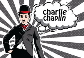 Charlie Chaplin Illustration vecteur
