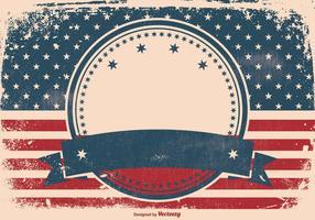 Contexte de style grunge patriotique