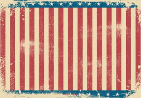 Fond de style patriotique grunge